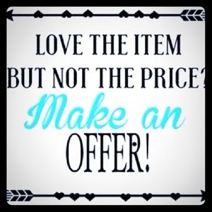 Accessories - I don't get offended by low-ball offers✌